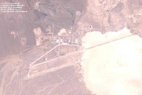 Groom Lake Satellite