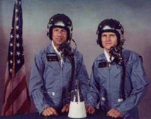 Jim Lovell and Frank Borman