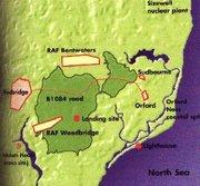 Rendlesham Forest Map