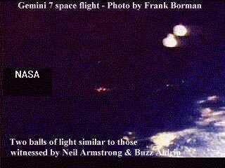 Gemini 7 UFO Photo